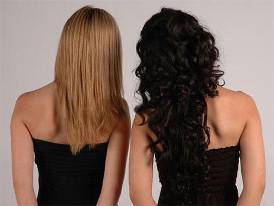 Corte en v cabello corto con capas