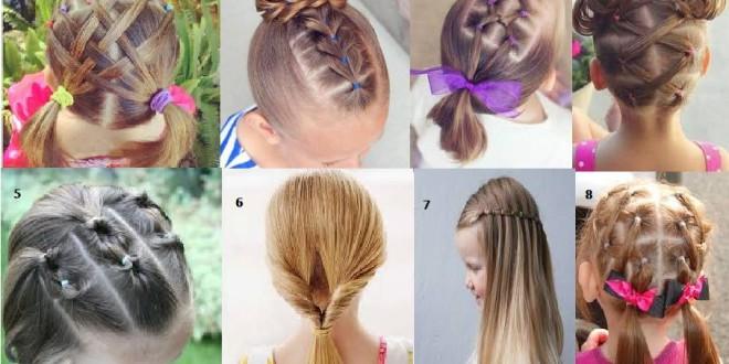 Peinados Para Niña Faciles Cortes De Pelo Corto