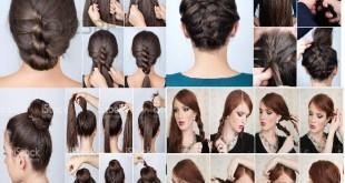 Peinados para fiesta largo