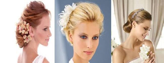 Peinado boda estilo invertido