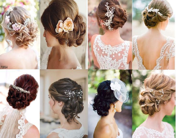 Peinados boda bucles
