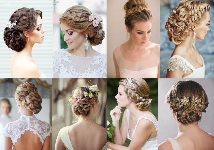 Peinados boda estilo trenzado