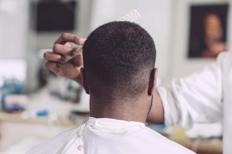 peinado degradado para hombres