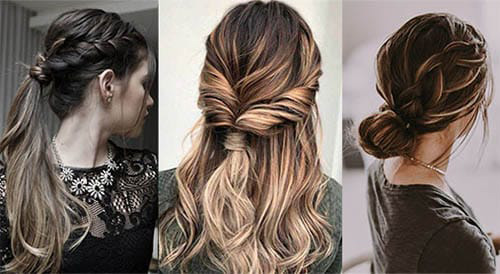 peinados fáciles caseros