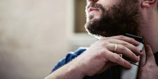 como rasurarse la barba
